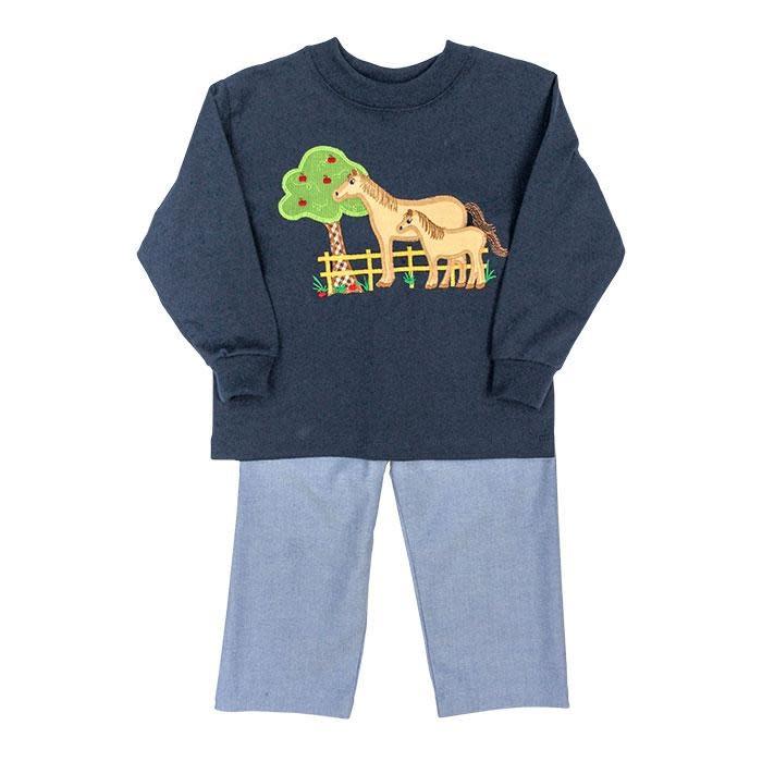 Bailey Boys Horse Pant Set