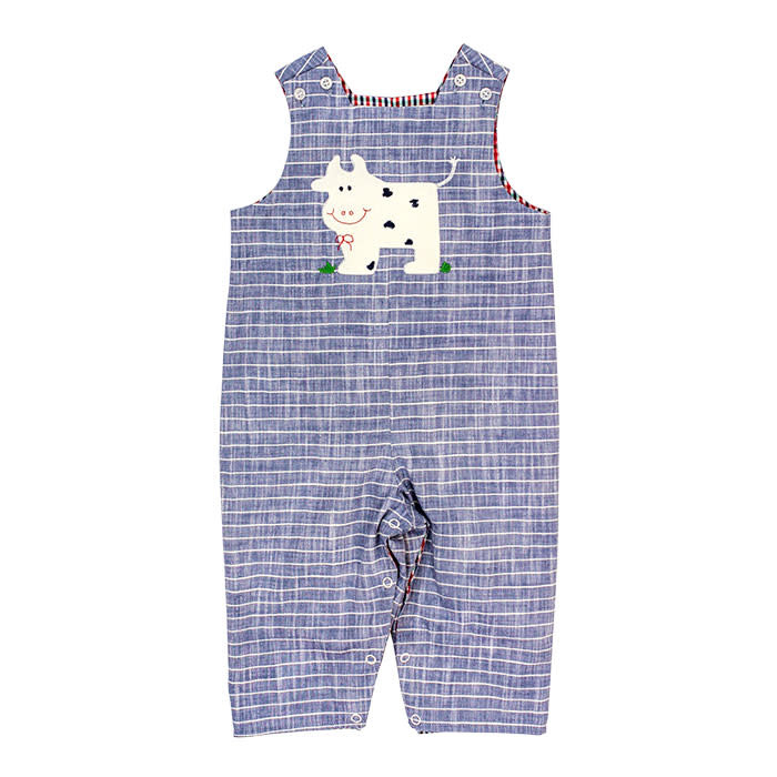 Bailey Boys Cow Reversible Longall