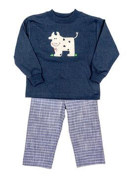 Bailey Boys Cow Pant Set