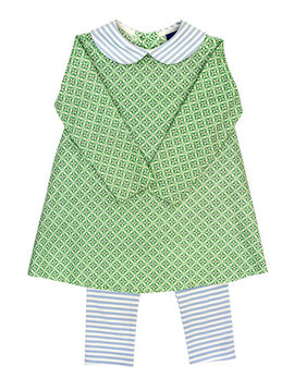 Bailey Boys Garden Green Suzanne Legging Set