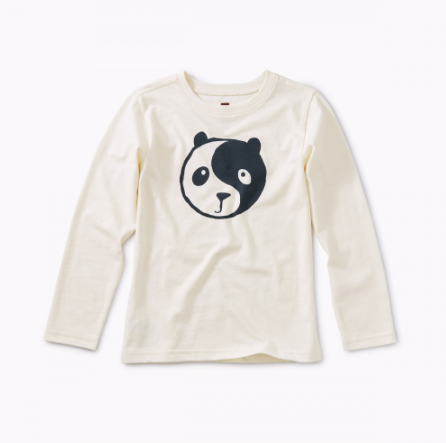 Tea Collection Yin Yang Panda Graphic Tee