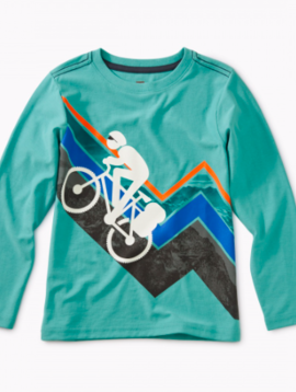 Tea Collection Mountain Biker Graphic Tee