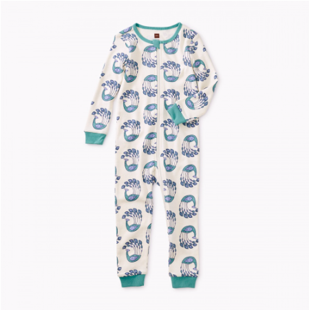 Tea Collection Peacock Strut Baby Sleeper