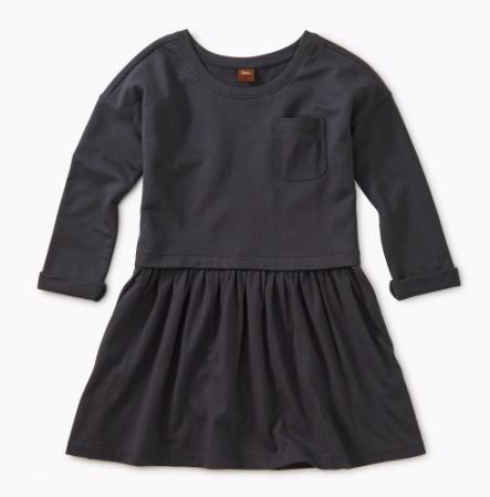 Tea Collection Indigo Pocket Play Dress