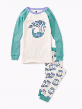 Tea Collection Peacock Strut PJs