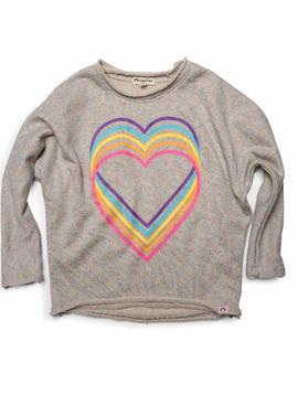 appaman Rainbow Slouchy Sweatshirt