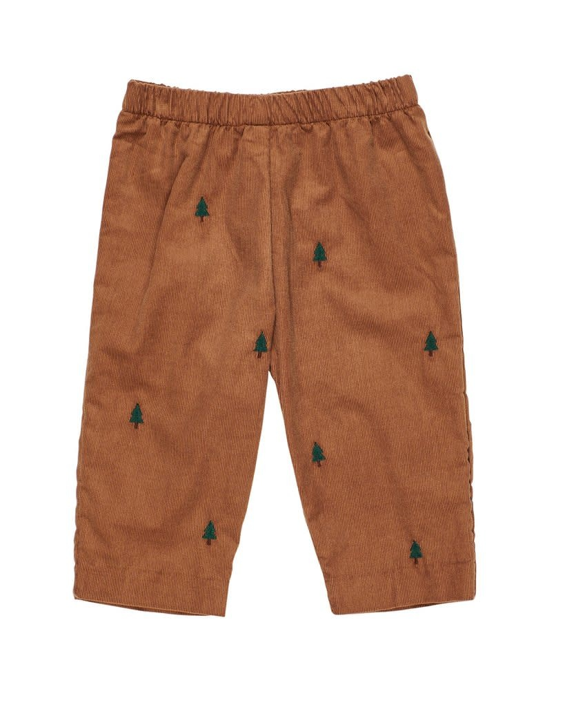 Florence Eiseman Evergreen Embroidered Pant