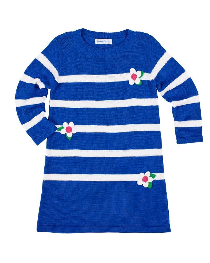 Florence Eiseman Blue Sweater Dress