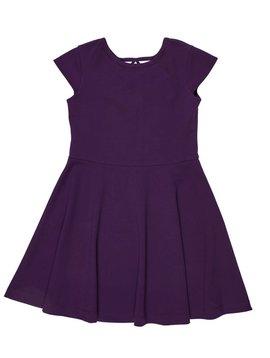 Florence Eiseman Purple Cap Sleeve Dress