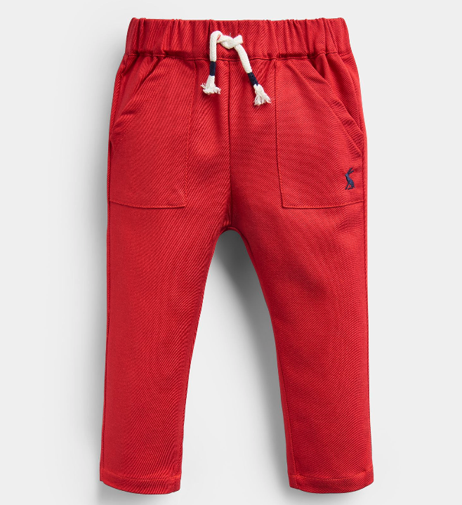 Joules Ethan Red Joggers