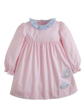 Little English Teacup Applique Caroline Dress