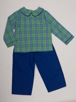 The Oaks Apparel Jason Tartan Pant Set