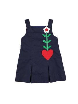 Florence Eiseman Heart Pocket Jumper