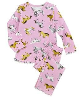 Sara's Prints Ruffle Top Pajama