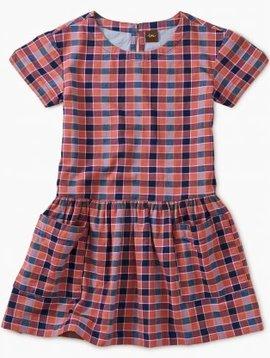 Tea Collection Bhutan Plaid Pocket Dress