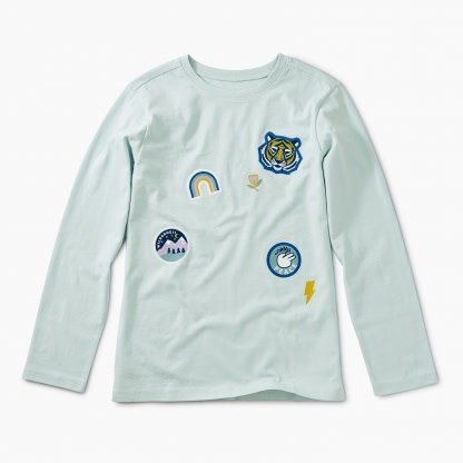 Tea Collection Patch It Up Graphic Tee