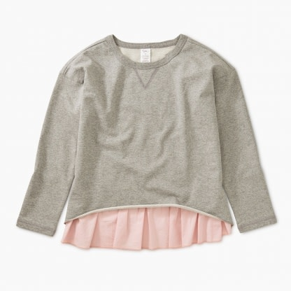 Tea Collection Heather Combo Top