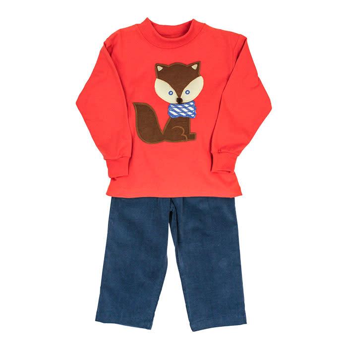 Bailey Boys Fox Pant Set