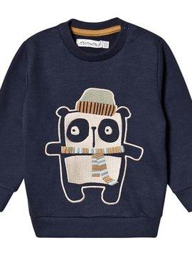 MinyMo Navy Blazer Sweatshirt