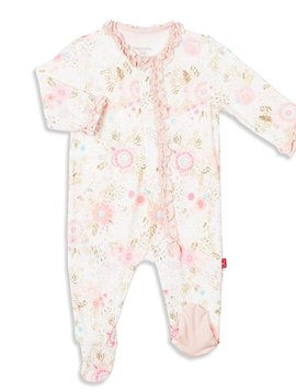 Magnificent Baby Modal Ruffle Footie