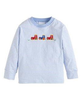 Little English Tractor Applique Tee