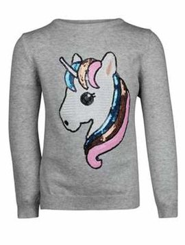Lola & the Boys Everyday Unicorn Sweater