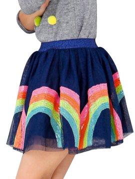 Lola & the Boys Rainbow Sequin Tutu