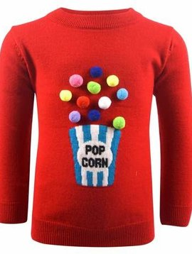 Lola & the Boys Popcorn Sweater