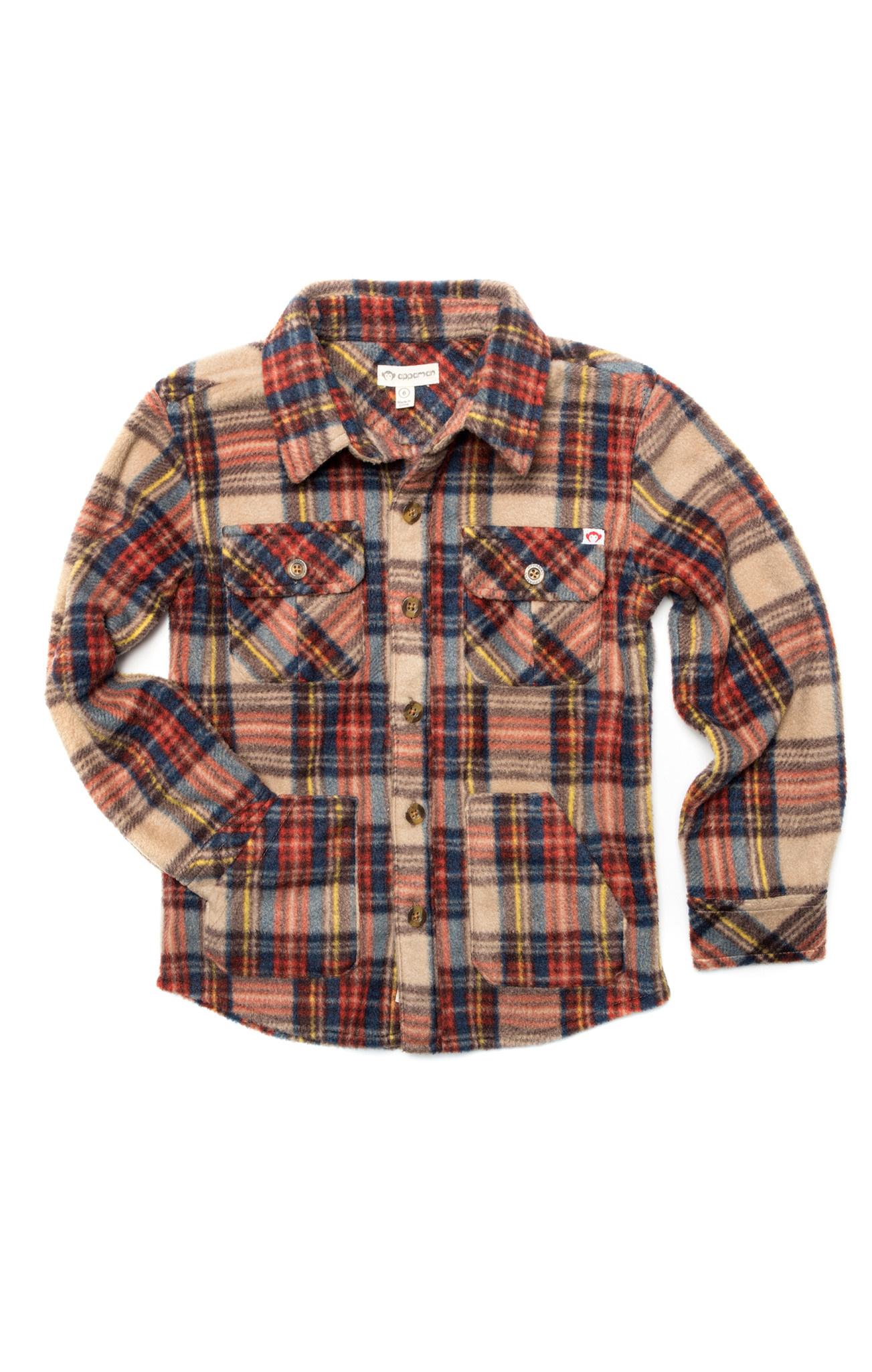 appaman Windham Plaid Fleece Shirt