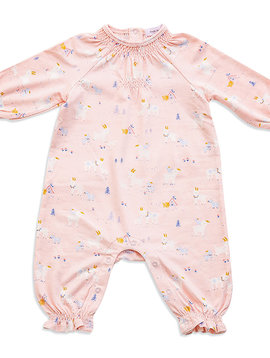 Angel Dear Smocked Romper