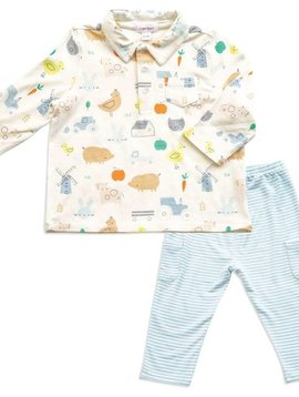 Angel Dear Little Farm Pant Set