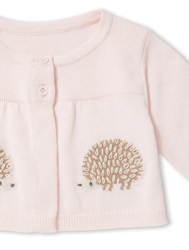 Angel Dear Hedgehog Swing Cardigan