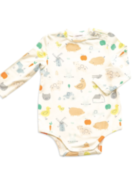 Angel Dear Little Farm Bodysuit
