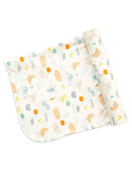 Angel Dear Chickens Swaddle Blanket