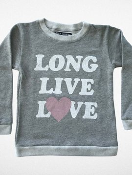 Tiny Whales Long Live Love Sweatshirt