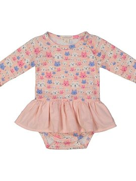 Everbloom Cat Skirted Onesie