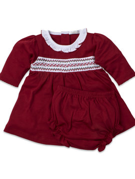 Kissy Kissy Smocked Dress Set