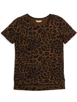 Habitual Londyn Leopard Printed Tee