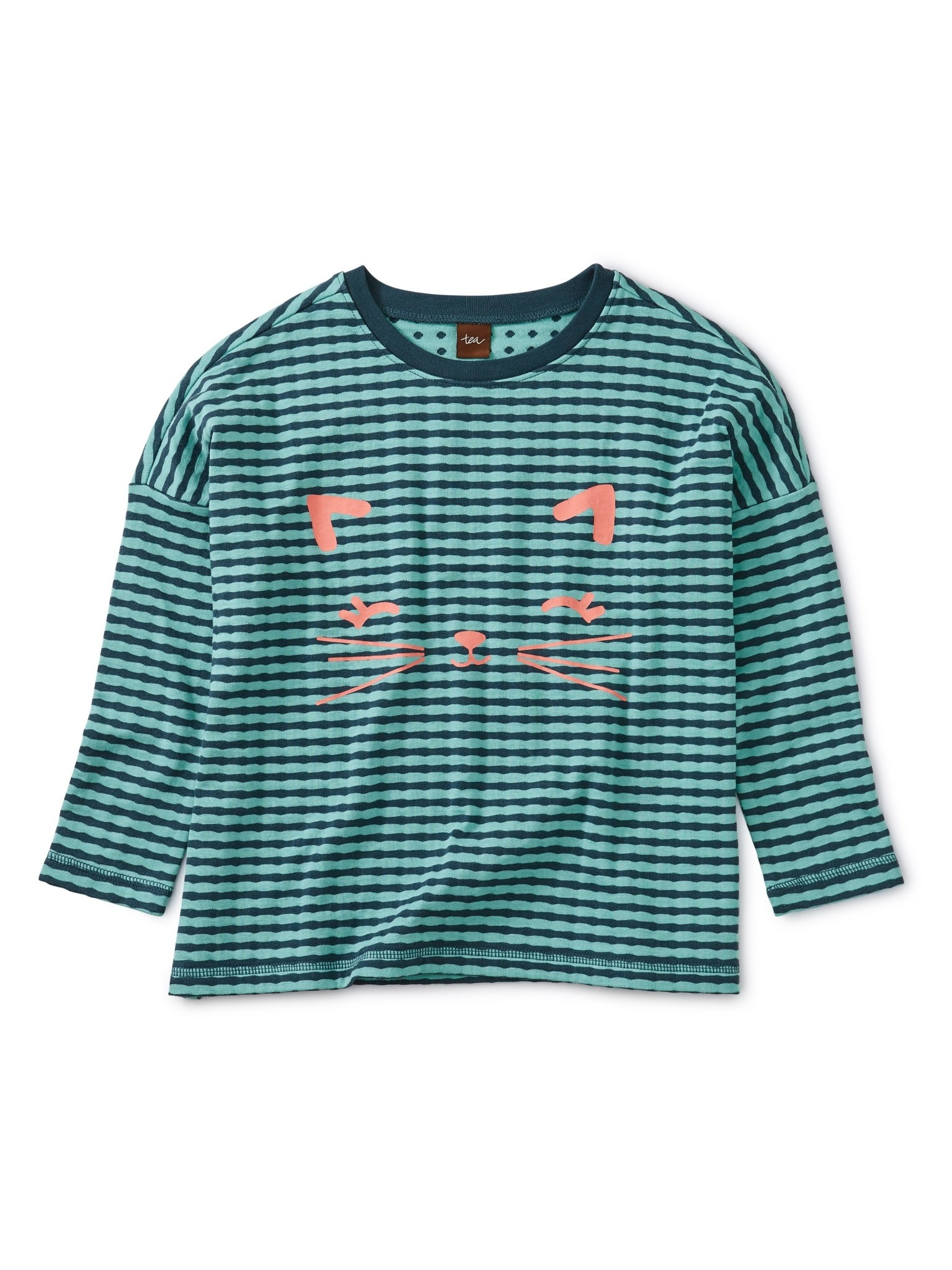 Tea Collection Meow Graphic Knit