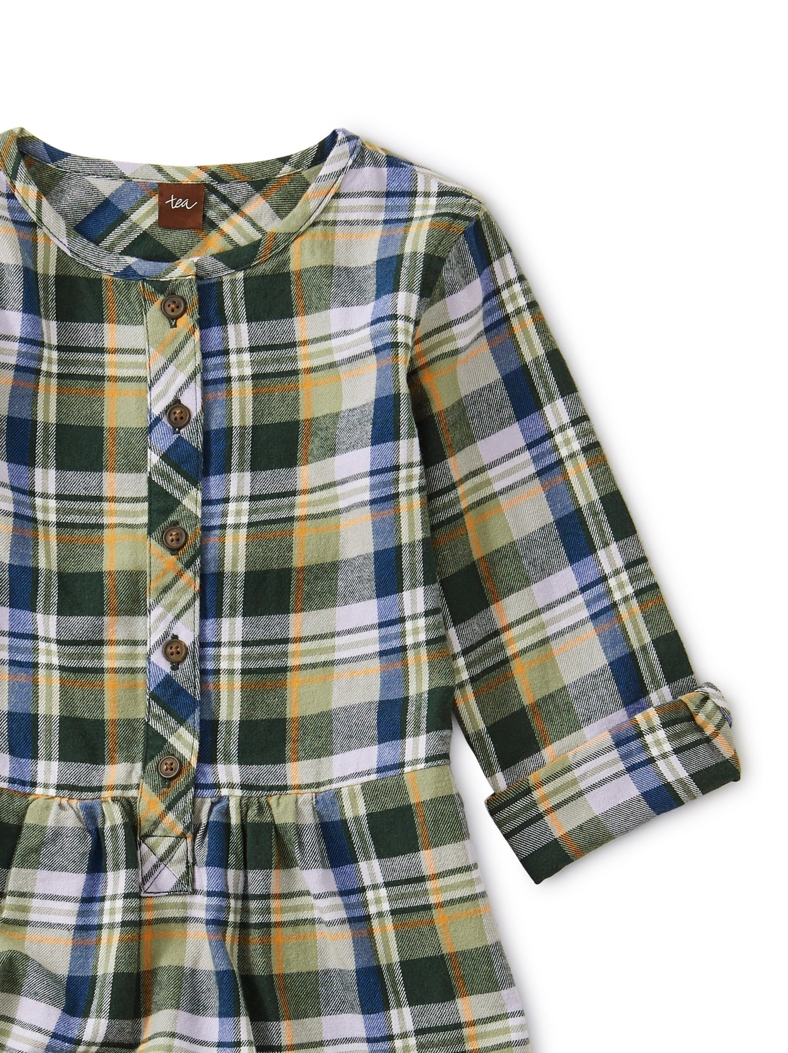 Tea Collection Everest Plaid Shirtdress