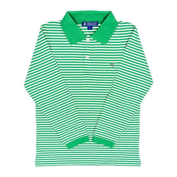J. Bailey L/S Stripe Polo