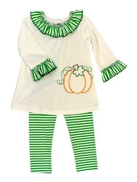Bailey Boys Pumpkin Stitch Tunic Set
