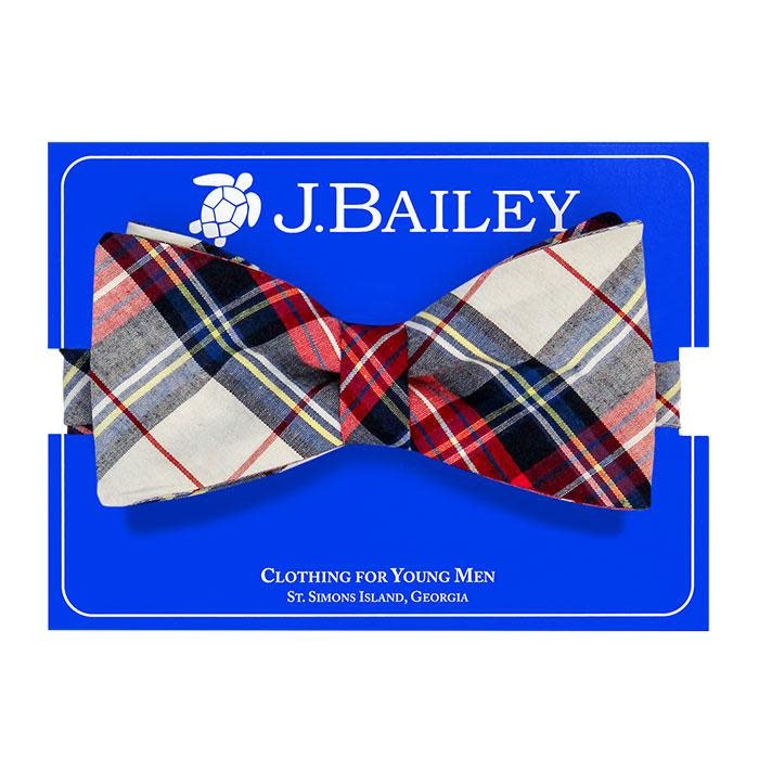 Bailey Boys Shaw Plaid Bow Tie (o/s)