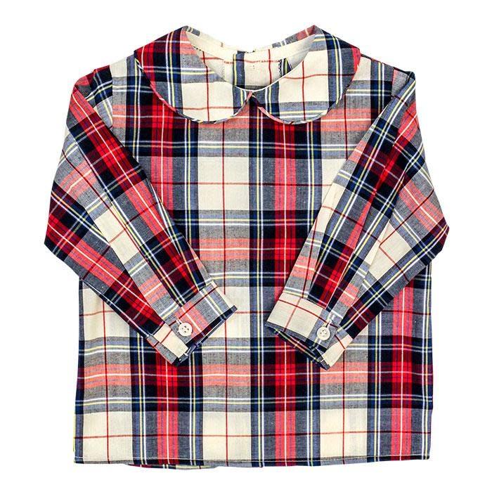 Bailey Boys Shaw Plaid Piped Shirt