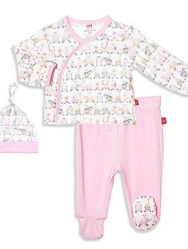 Magnificent Baby 3pc Kimono Set
