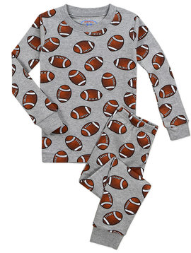 Sara's Prints Football Long John PJ