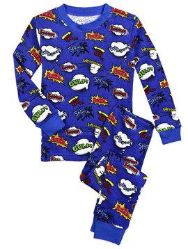 Sara's Prints Super Kid Waffle PJs