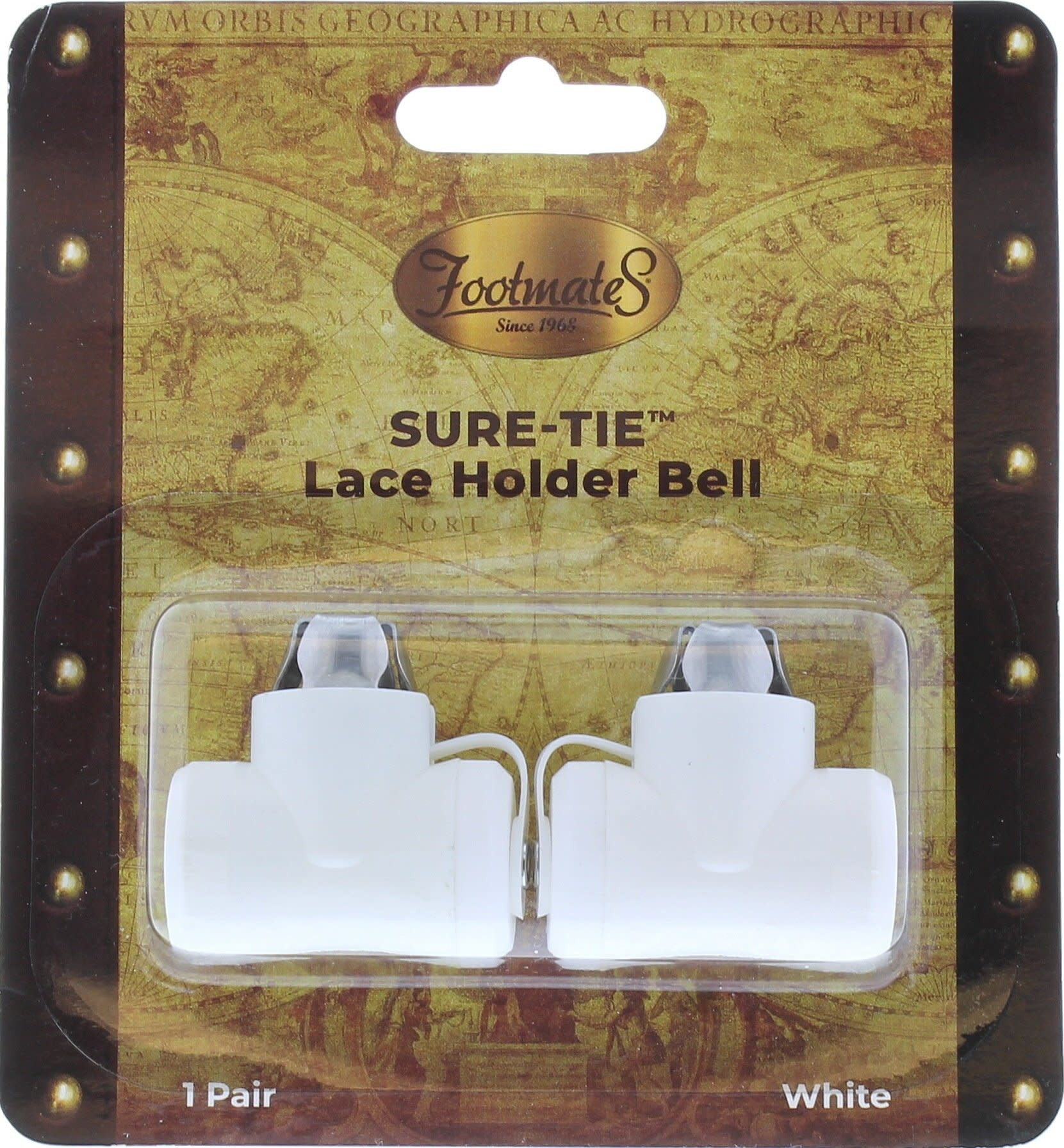 Footmates Sure-Tie Lace Holder Bell