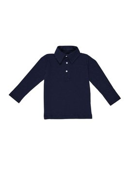 Lila + Hayes Finn Long Sleeve Polo