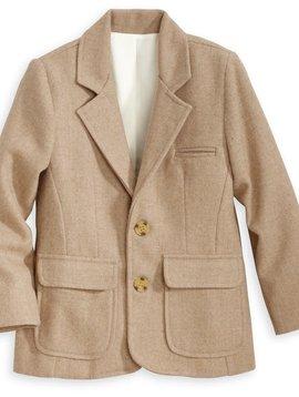 Bella Bliss Camel Wool Blazer